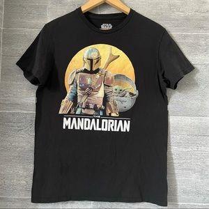 The Mandalorian Star Wars graphic T shirt